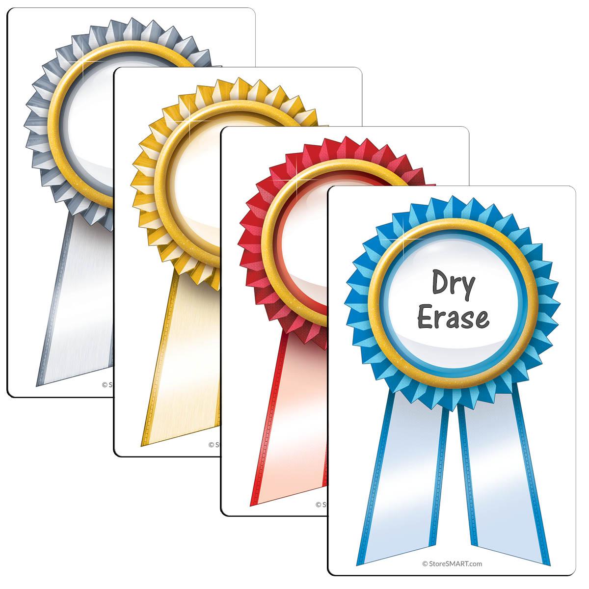 "3 ½"" X 5 ½"" Magnetic Award Ribbons"