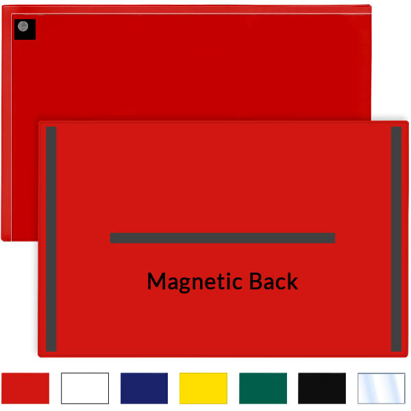Magnetic Closure Pocket Magnetic Back 11 X 17 Storesmart Filing Organizing And Display For Office School Warehouse And Home