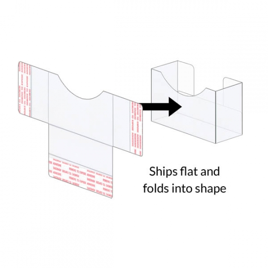 Peel stick business card boxes 3 58 x 1 x 1 ships flat peel stick business card boxes 3 58 x 1 frac12 reheart Gallery
