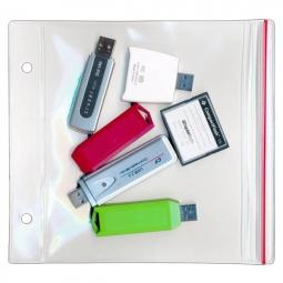 Desk Top Clear Acrylic Flash//Thumb Drive Organizer//Holds 12 Sticks