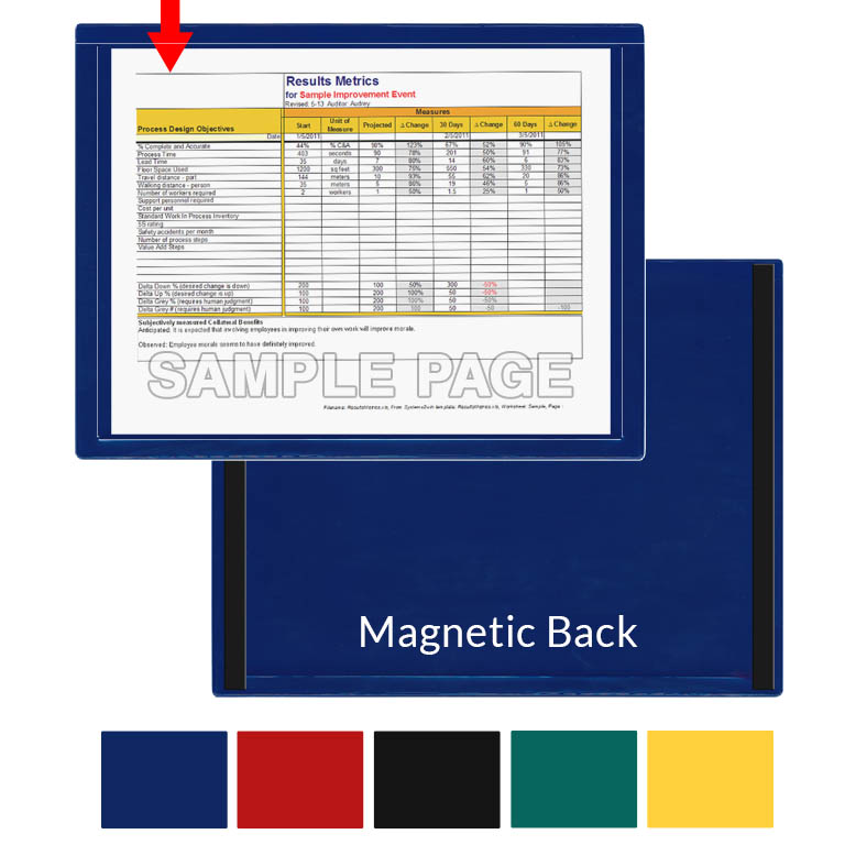 """LETTER SIZE 8.5/""""x11/"""" Magnetic Photo Paper 5 SHEETS"""