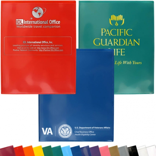 734b5452f Custom Printing - Plastic 2-Pocket Folders: StoreSMART - Filing,  Organizing, and Display for Office, School, Warehouse, and Home