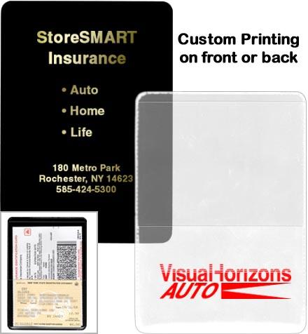 insurance id card holder custom printed minimum 500 pieces - Insurance Card Holder