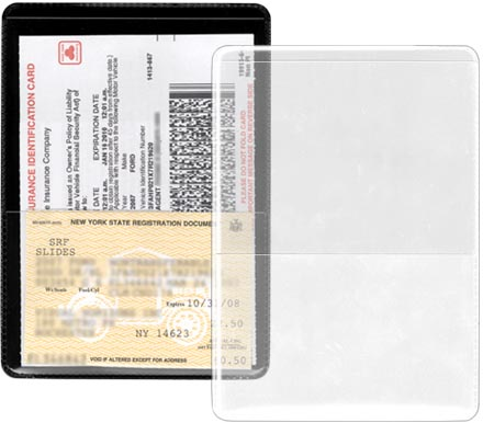 Insurance Id Card Holder 4 X 5 5 8 Storesmart Filing