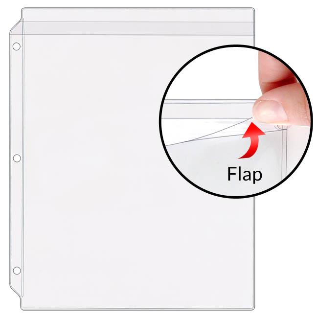 Storesmart 8 189 Quot X 11 Quot Vinyl Sheet Protector With Flaps