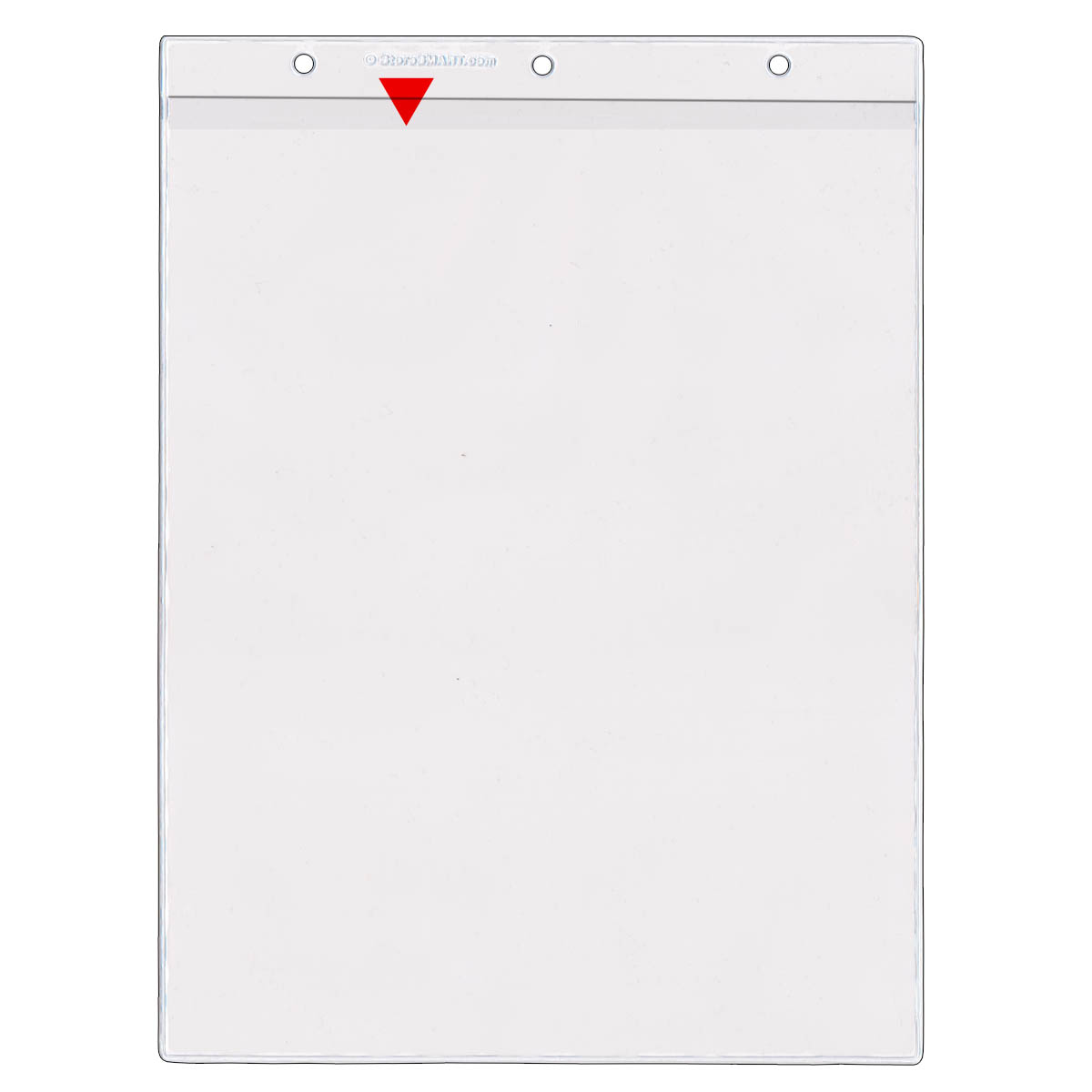 8 189 Quot X 11 Quot Vinyl Sheet Protector Holes On Short Side