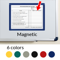 Document Holder Window Frame Style Magnetic Holds 1