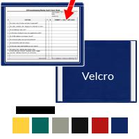 Document Holder Window Frame Style Velcro Holds 11