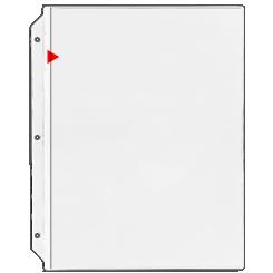 Storesmart Flip Chart Easel Binder Portrait Vertical