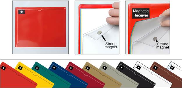 Magnetic Closure Pockets: StoreSMART - Filing, Organizing