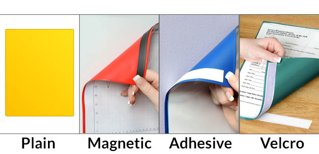 Magnetic Closure Pockets: StoreSMART - Filing, Organizing, and