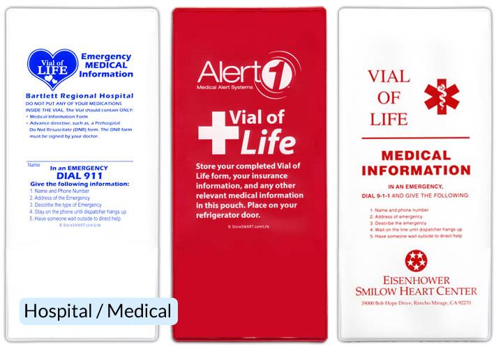 Emergency Information Pockets Storesmart Filing