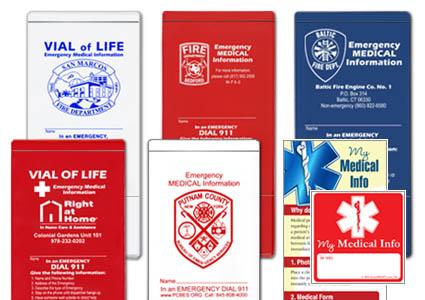 Storesmart Emergency Information Pockets